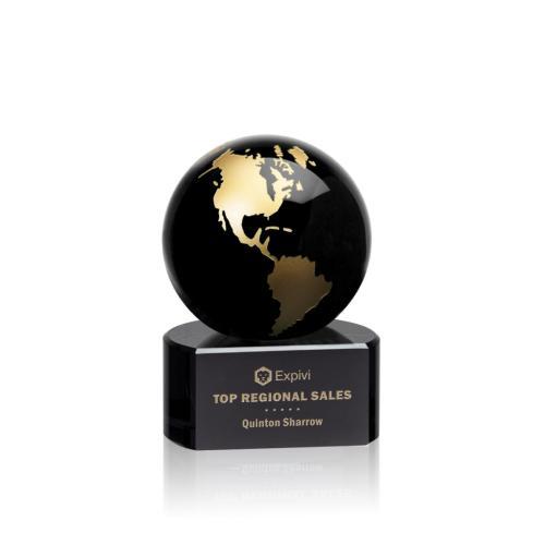 Marcana Globe Award - Black