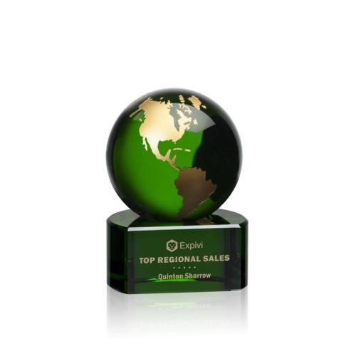 Marcana Globe Award - Green