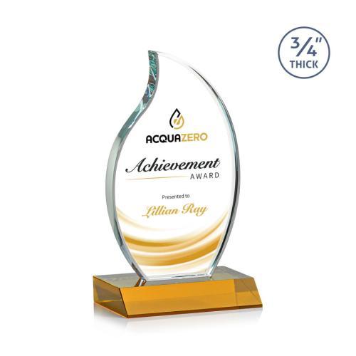 Croydon VividPrint™ Flame Award - Amber