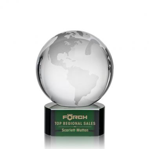 Globe Award on Paragon Green