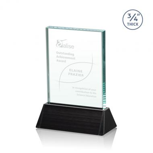 Ballard Award - Jade/Black (Vertical)