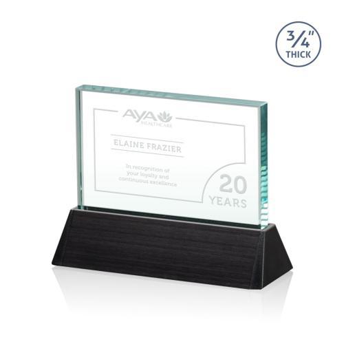 Ballard Award - Jade/Black (Horizontal)