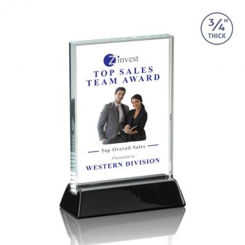 Walkerton VividPrint™ Award - Black (Vertical)
