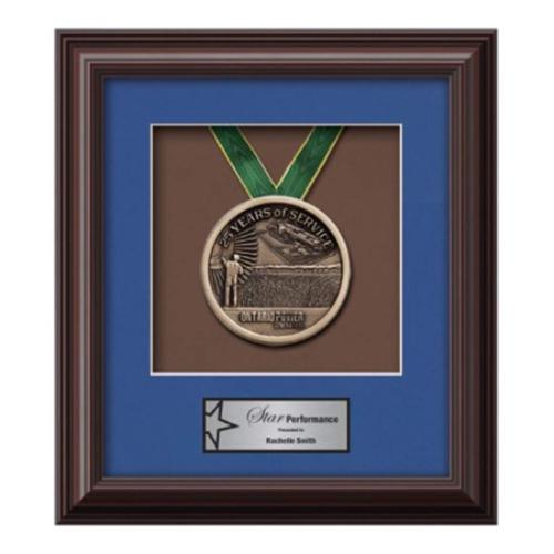 Monarch Medallion - Mahogany