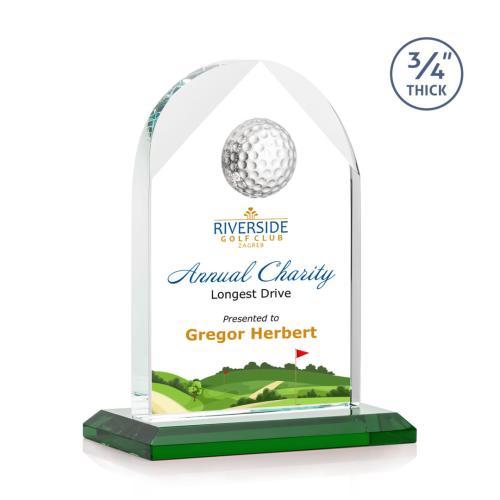 Blake Golf VividPrint™ Award - Green