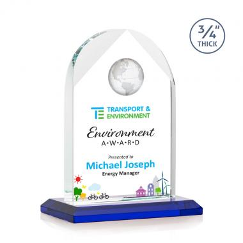 Blake Globe VividPrint™ Award - Blue