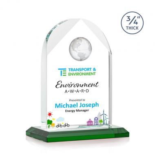 Blake Globe VividPrint™ Award - Green