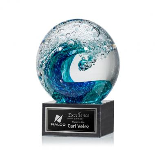 Surfside Award on Square Marble