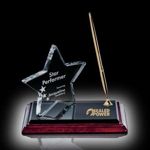 Star on Albion Pen Set - Gold