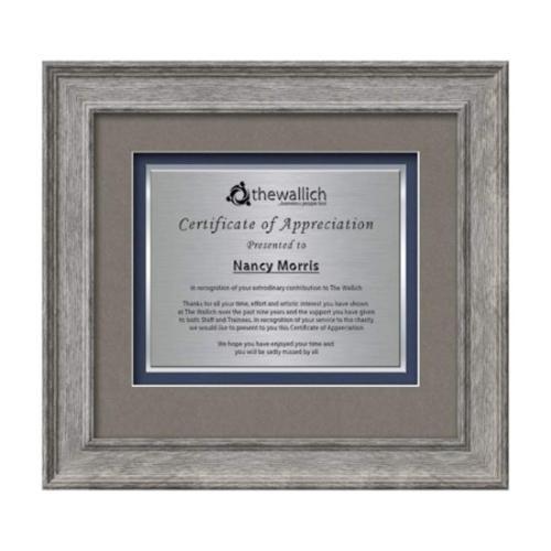 Calder Certificate TexEtch - Grey Oak