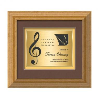 Terrene Certificate TexEtch - Antique Gold