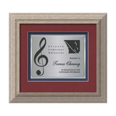 Terrene Certificate TexEtch - Antique Silver