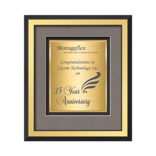 Jasper Certificate TexEtch Horiz - Gold