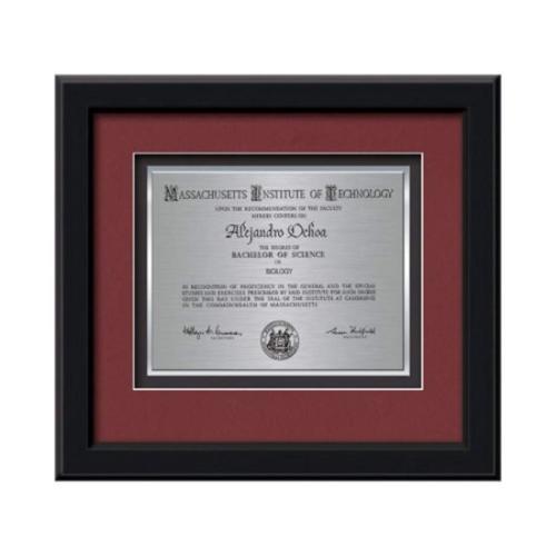 Myriad Certificate TexEtch - Black