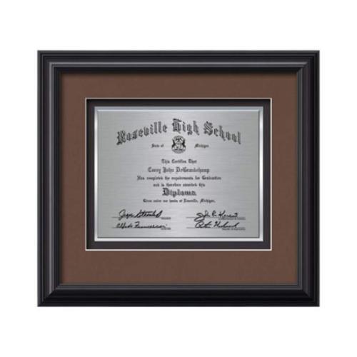 Monarch Certificate TexEtch - Black