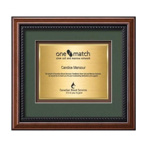 Deco Certificate TexEtch - Walnut
