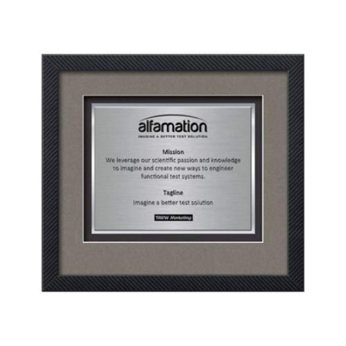 Primrose Certificate TexEtch - Carbon Fiber