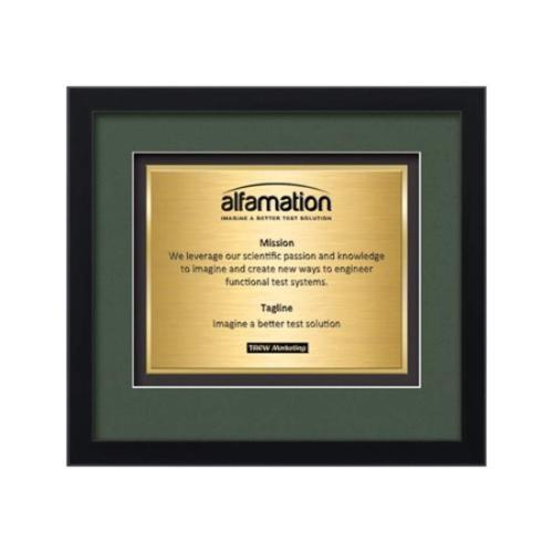 Primrose Certificate TexEtch - Black