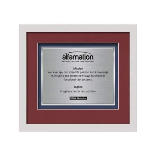 Primrose Certificate TexEtch - White