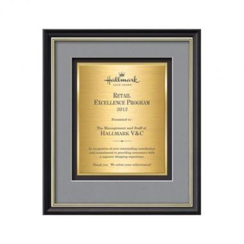 Baron Certificate TexEtch - Mahogany/Silver