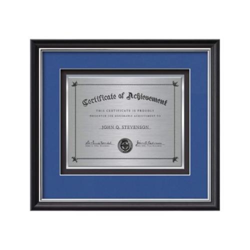 Baron Certificate TexEtch - Black/Silver