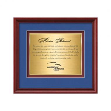 Raven Certificate TexEtch - Mahogany