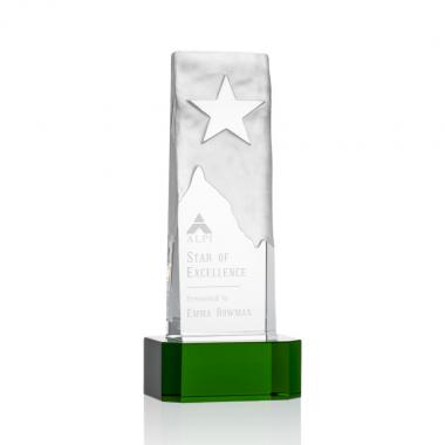 Stapleton Star Award on Base - Green