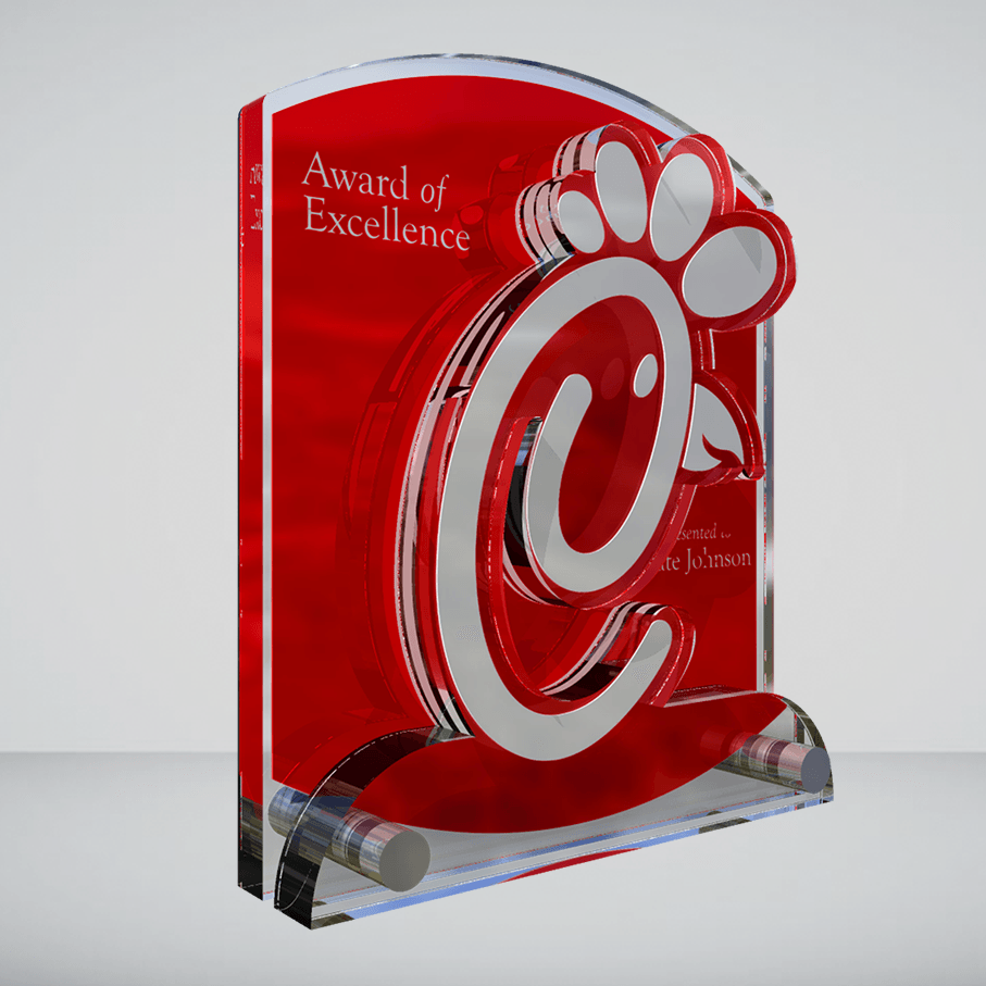 Turn Your Brand Into A Custom Acrylic Award Awards Com