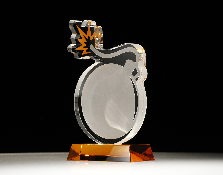 custom award trophies crystal acrylic and more awardscom