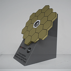 Custom Metal Award Example - Nasa Award