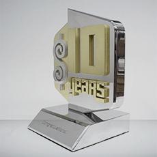Custom Metal Award Example