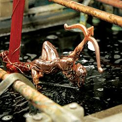 Custom Award Manufacturing Plating