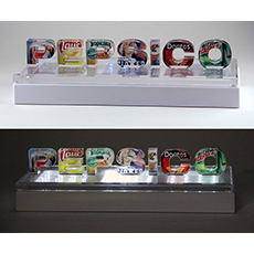Pepsico Brand Identity Lighted Sign