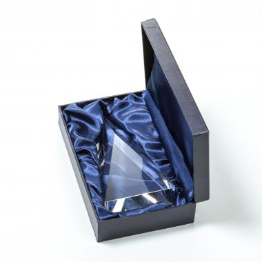 Crystal Ball Award on Tall Base Packaging Carrington Box