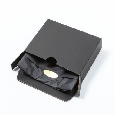 Telford Plaque - Ebony/Walnut Packaging Vanguard Box