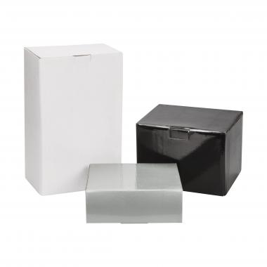 Amberwood Bookends Packaging Factory Box - Silver