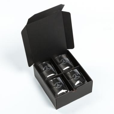 Vale Stemless Wine - Deep Etch Packaging Vanguard Box (2's or 4's)