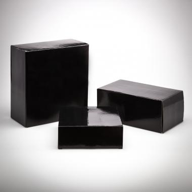 Corbett Pen/Card Holder Packaging Factory Box - Black
