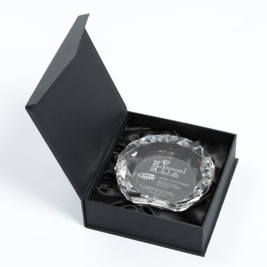 Aphrodite Globe Award Packaging Silcote Box